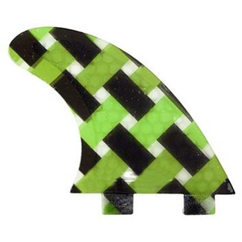 China Factory Direct Supply Green and Black Stripe Surfboard fin