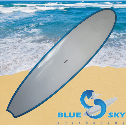 Stand Up Paddle Boards paint blue