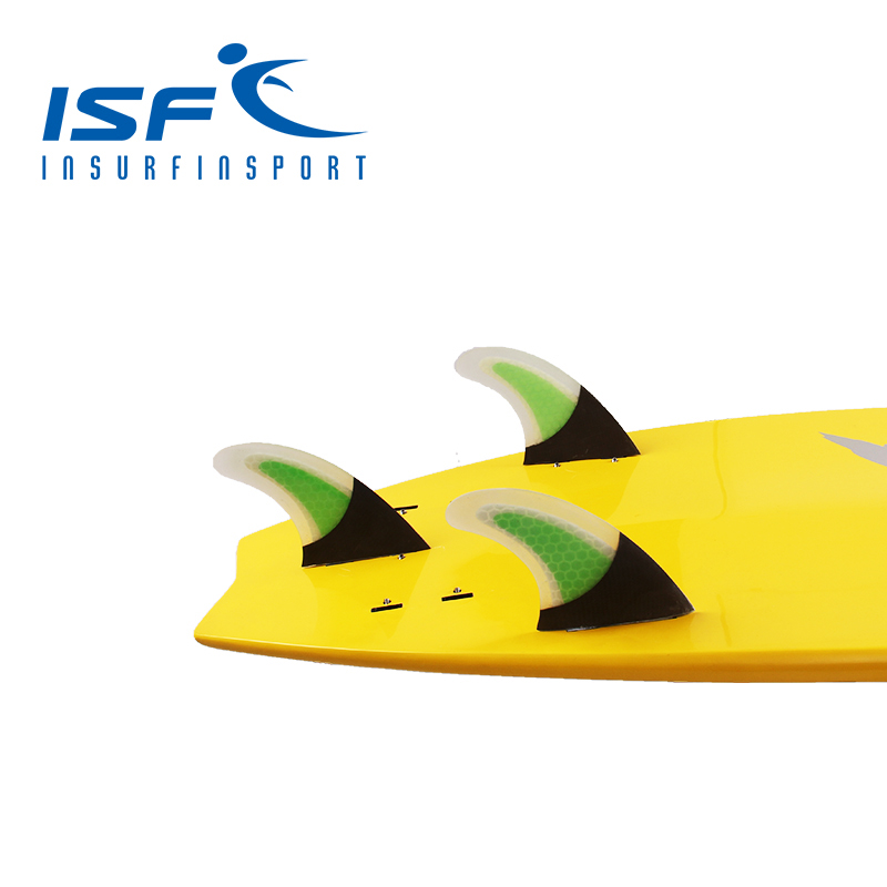 carbon honeycomb surfboard fin