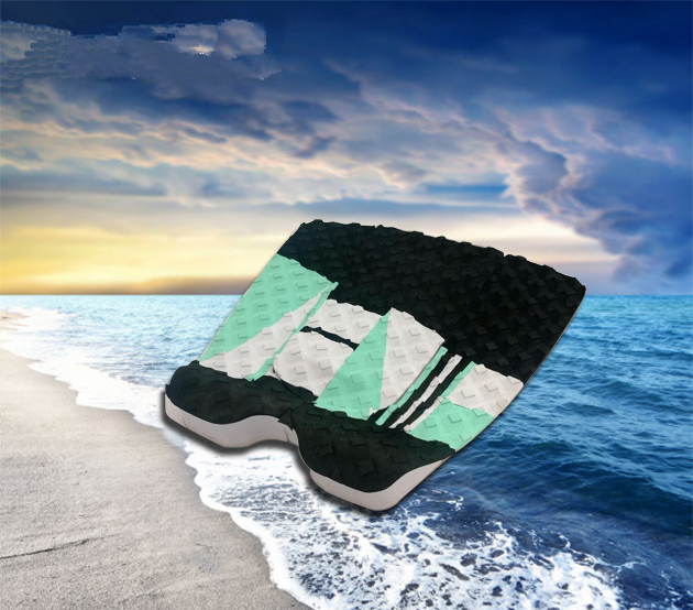Wholesale Coiled Surfboard traction pad tail pad